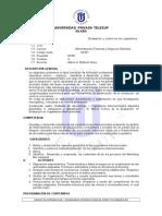 SILABUS DE control y evaluación de organizaciones