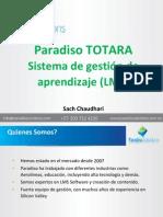 Paradiso TOTARA Sistema de gestión de  aprendizaje (LMS)