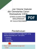 Pengaturan Volume Dan Osmolaritas