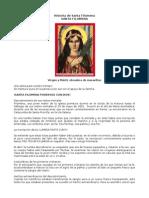 Historia de Santa Filomena