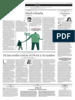 Bullard, Paternidad Robada, Articulo de Periodico