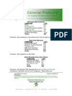 Colonial Products for Soybean Oil - 035