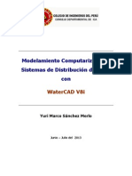 Manual Completo WaterCAD Ica Junio 2013