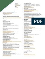 Listado de Profesionales e Instituciones Del Parto y Nacimiento Respetado en Buenos Aires