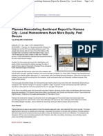 Planese Remodeling Sentiment Report for Kansas City - Local Homeowners Have More Equity, Feel Secure