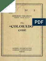 Colorado Code