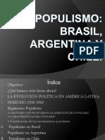Psu Populismo Latinoamerica