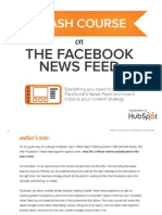 Crash Course on the Facebook News Feed