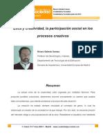 09 Etica y Creatividad La Participacion Social en Los Procesos Creativos