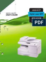 SCX5x12 MFP User Manual