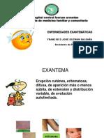Exantematicas Guzman r1 Mf. Final