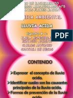 Evidencia Exposicion Lluvia Acida Vif
