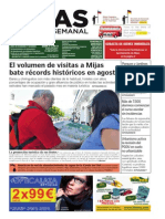 Mijas Semanal nº548 Del 13 al 19 de septiembre de 2013