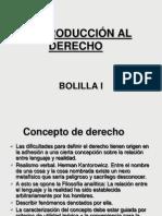 Derecho Bolilla i