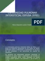 86055583 Enfermedad Pulmonar Intersticial Difusa Epid