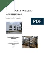 Manual de Prácticas - Operaciones unitarias