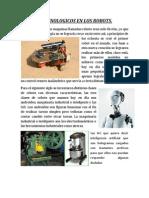 Avances Tecnologicos en Los Robots