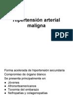Hipertension Maligna y en Embarazo