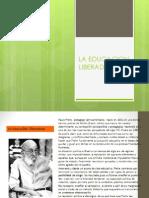Sesión Nº03 - Distancia LA EDUCACION  LIBERADORA