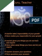 Teacher & Guru