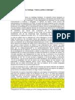 Gándara, Santiago,Ciencia, política e ideología