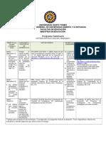 Syllabus Evaluación Semestre III 2- 2013 jueves