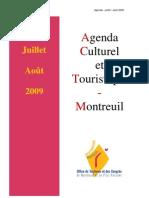 Agenda Juillet Aout 09