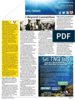 Business Events News for Fri 13 Sep 2013 - 100% Beyond Convention, A murderous strategy, Queenstown\'s game changer, Sitting Pretty Etihad and much more