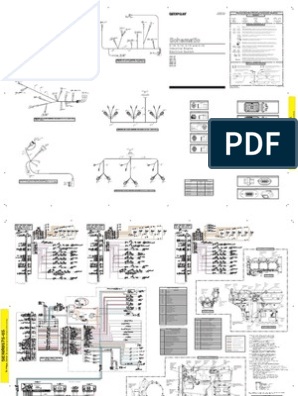 CAT - C12, C13, C15 - Electric Schematic | Electrical Connector | Fuel  InjectionScribd