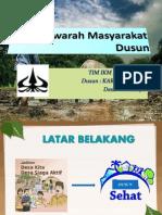 Musyawarah Masyarakat Dusun