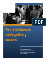 Fines Universidad