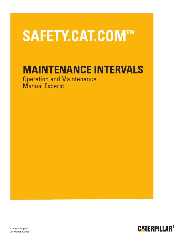 g3408 and g3412 engines maintenance intervals battery electricity rh scribd com