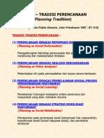 4-tradisi perencanaan