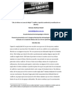Conflicto Injusticia Ambiental TIRADERO TETLAMA