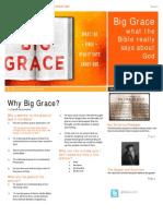 Big Grace Session 1 Summary
