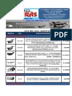 Lista Precios Cctv Julio-Agosto2013