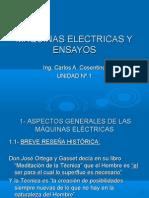Maq. Electricas y Ens. - Unidad 1 - 2009