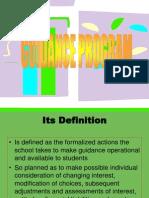 GUIDANCE PROGRAM.ppt