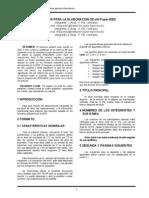 Consejos Para La Elaboracion de-un-paper-ieee