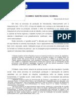 Reflexões sobre a questão social no brasil