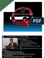 18 Patient Safety Dalam Standar Akreditasi Versi 2012(Dr. d