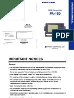 FA150 Operator s Manual-H2