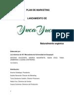 Lanzamiento Del Proyecto Yuca Yuca
