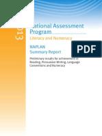 NAPLAN Summary Report 2013