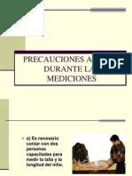 Precauciones Antes y Durante Las Mediciones