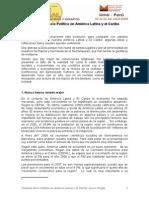 2 Panel Contexto Socio Polc3adtico en Amc3a9rica Latina y El Carib