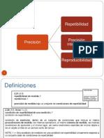 Evaluación del método Precisión