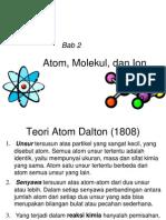 Atom Molekul Ion