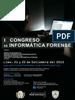 I Congreso Internacional de Informática Forense