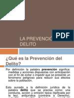 La prevención del delito